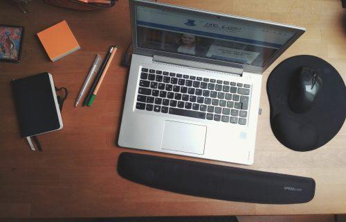 Schreibtischfoto