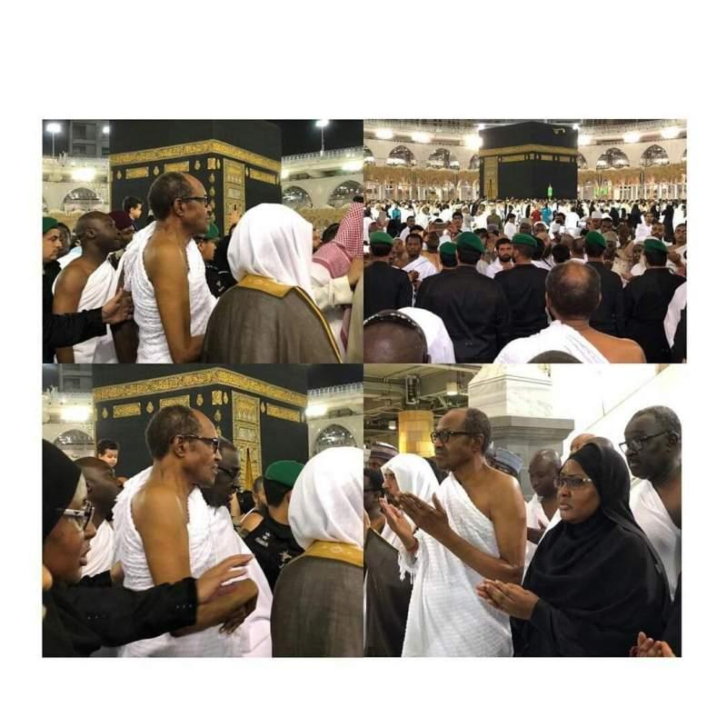 President Buhari in Saudi Arabia for Umrah rites
