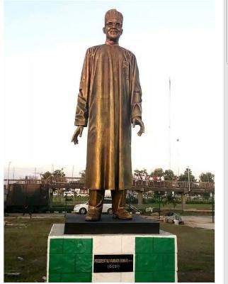 Statue of President Buhari