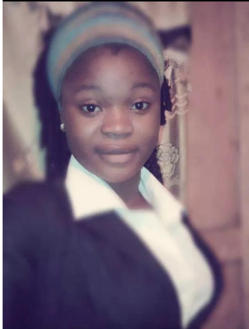 The missing 22 years old girl ,Soyebo Oluwakemi.
