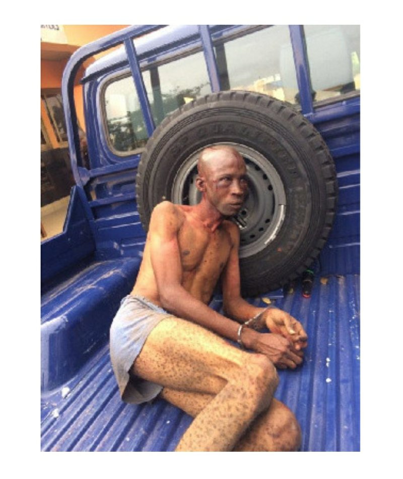 Nigerian man was wrongly accused of being a kidnapper and beaten - Ghana Police