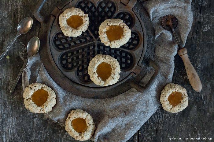 Haferflocken Mandarinen Cookies
