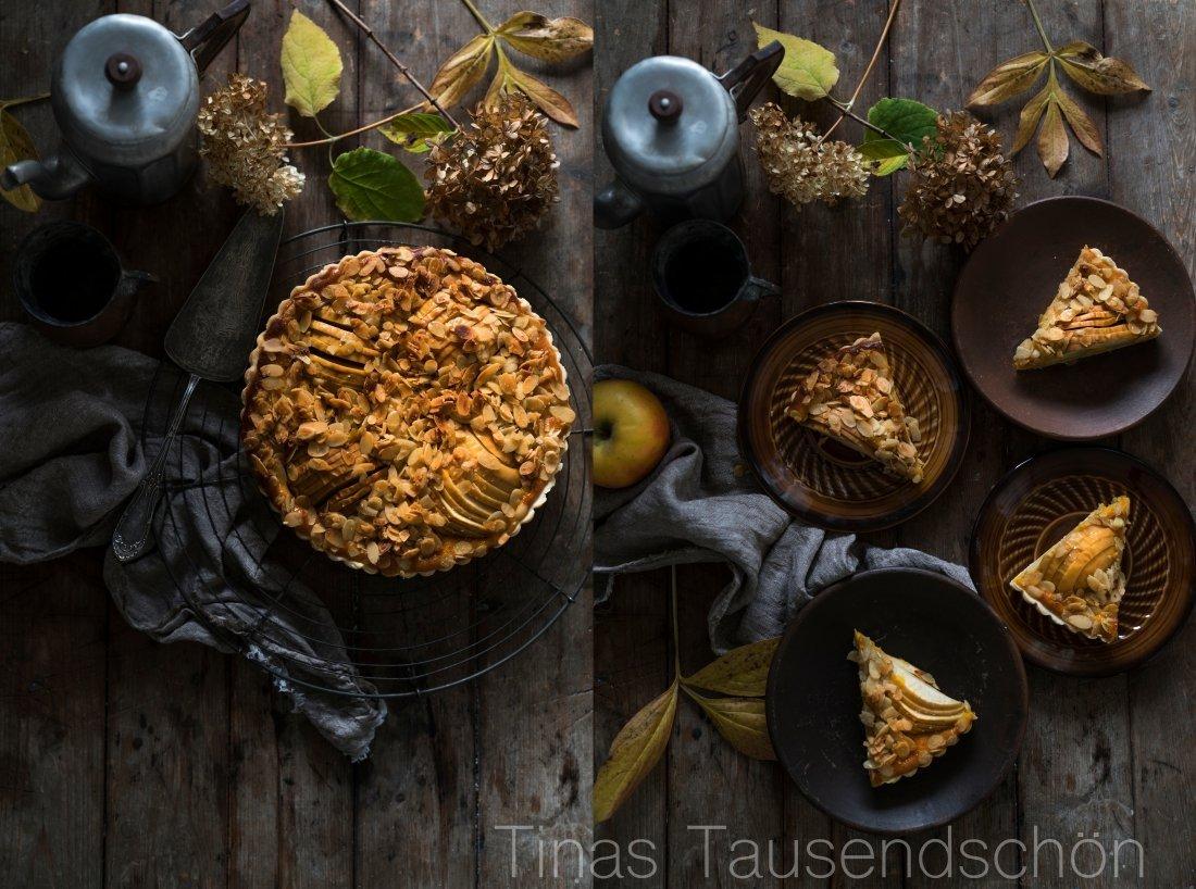 Apfel Kürbis Tarte