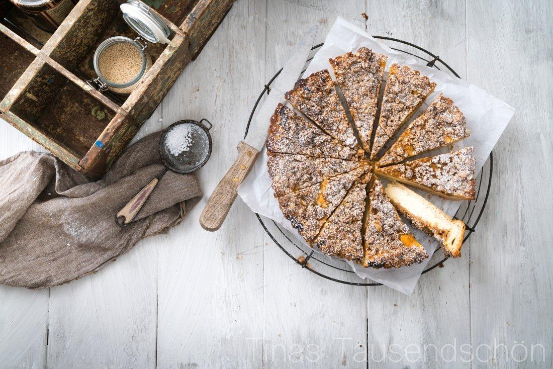 Bauern Rahmkuchen mit Streusel