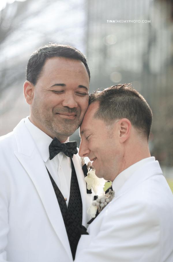03-Washington-DC-Virginia-Gay-Same-Sex-Wedding-Men-12-13-14-Pose-City-Holding-Hands-Photographer