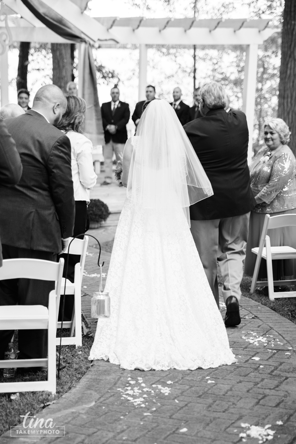 bride-father-walk-aisle-ceremony-Richmond-virginia-wedding-photographer-tina-take-my-photo-fall-celebrations-reservoir-midlothian