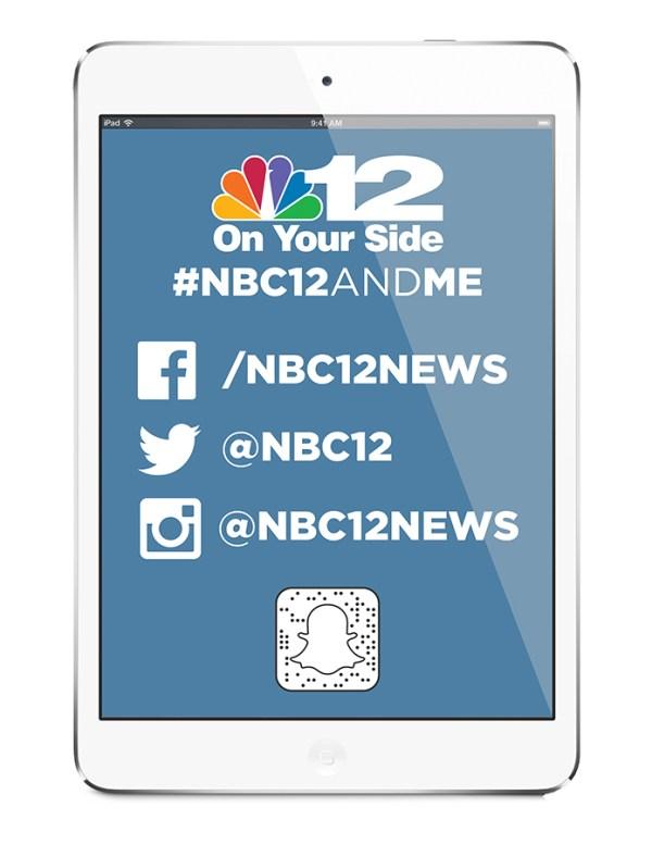 NBC12 Social Media Flier