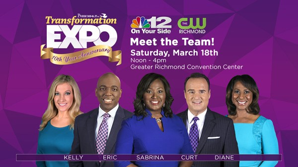 NBC12 Event News Board