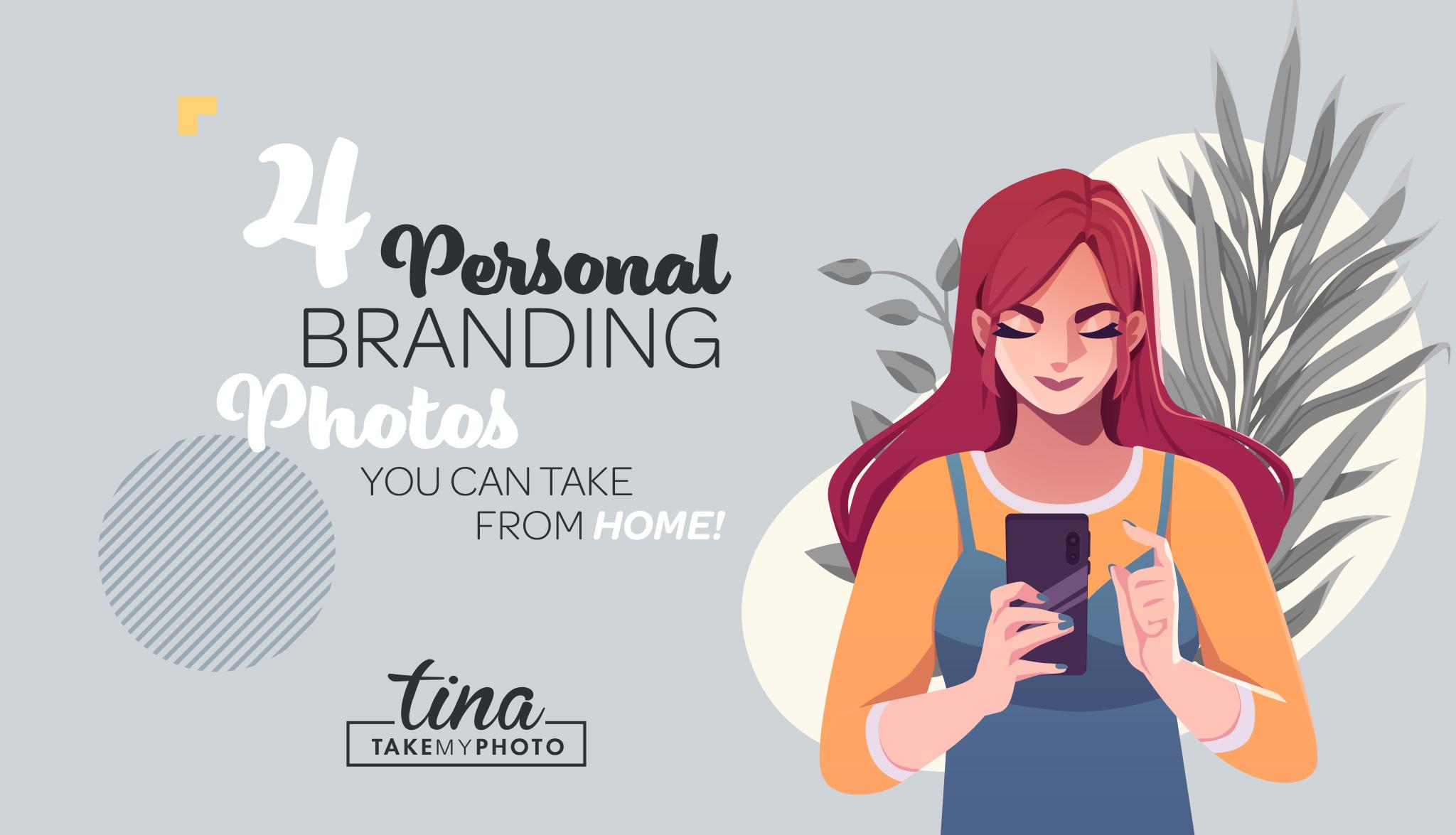 at home branding photos