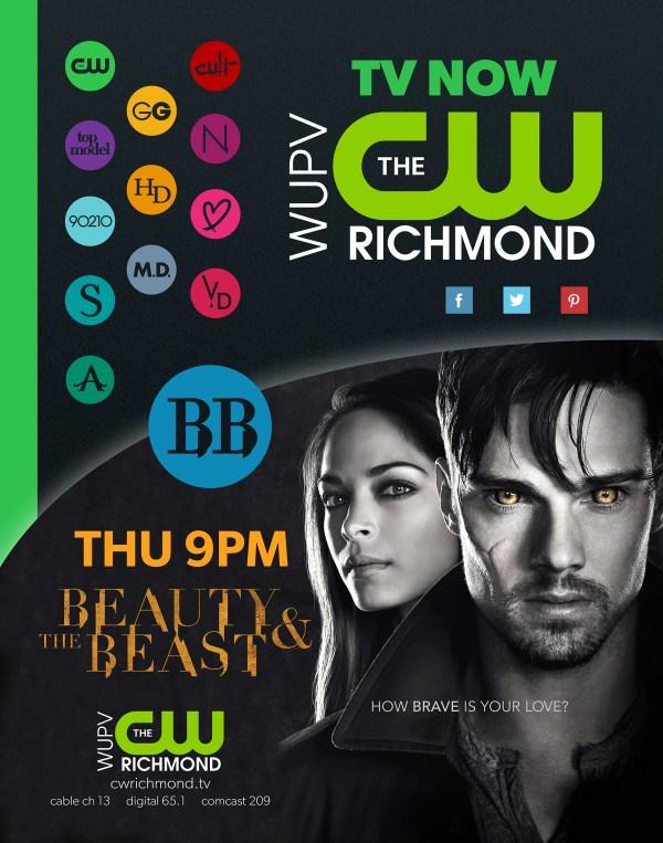 CW Richmond Primetime Print Ad