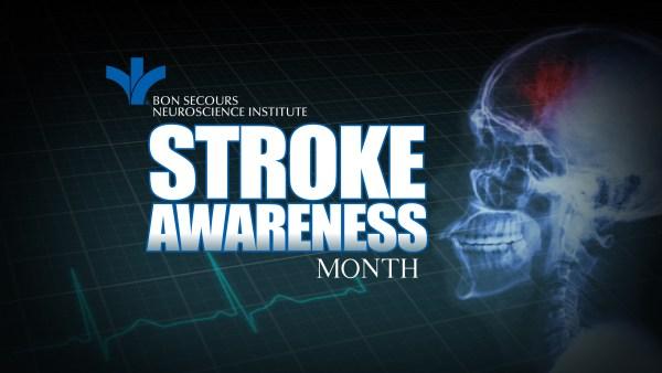 Stroke Awareness Segment Slate