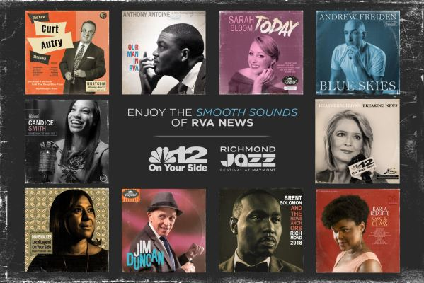 NBC12 Jazz Fest Poster Design (and Record Recreations)