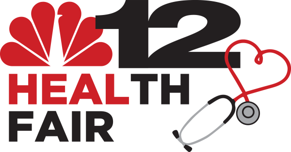 NBC12 Bon Secours Health Fair Logo Design