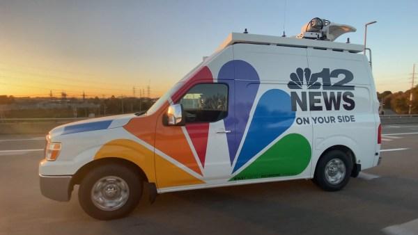 NBC12 Live Truck Wrap Design