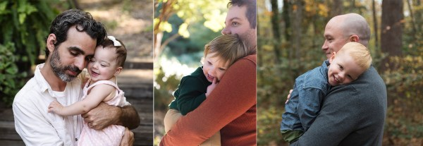 fathers day photo tips candid pose snuggles