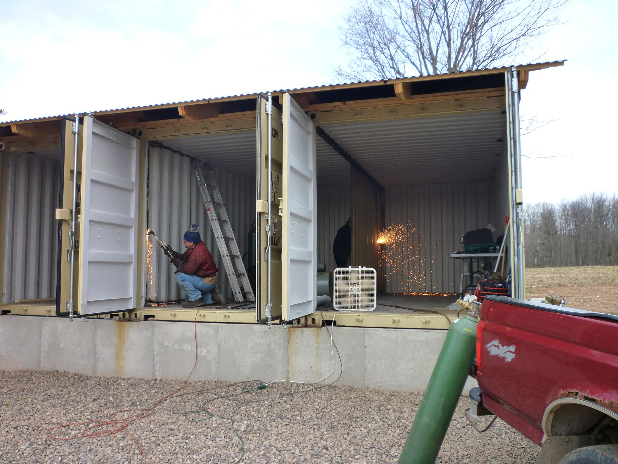 Best Kitchen Gallery: How To Build Tin Can Cabin of Home Out Of Shipping Containers  on rachelxblog.com
