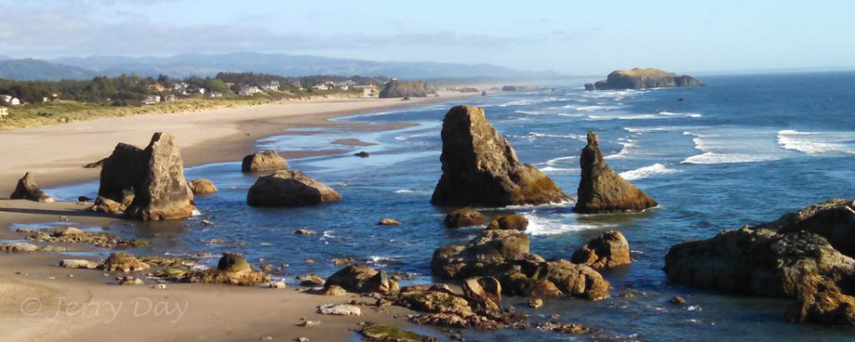 Coastal vista at Bandon, Oregon