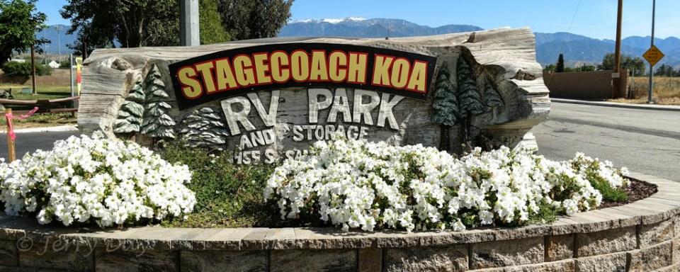 Banning Stagecoach KOA, Banning, CA