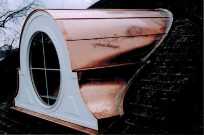 Exterior Copper Work #1