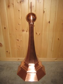 Copper Finial #1