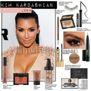 Kim Kardashian Makeup Tutorial With Mario - Kim kardashianwest