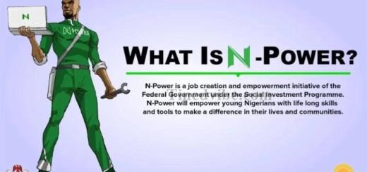 2018/2019 Npower Recruitment Online Registration - www.npower.gov.ng