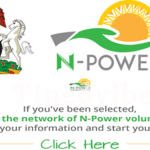 How To Check Npower Result – Npower Login Portal npower.gov.ng