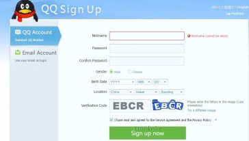 Sign Up QQ Messenger Download | www.qq.com