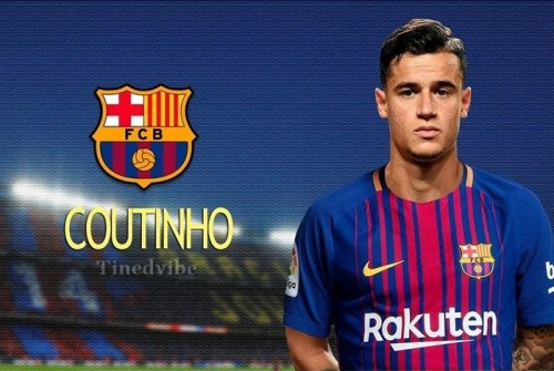 NIKE: Philippe Coutinho to Barcelona Deal To Be Finalize this Week