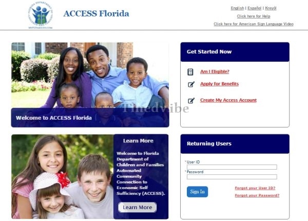 www.myflorida.com myaccessflorida account