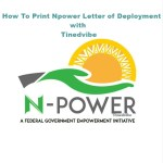 7 Easy Ways On How To Print Npower Letter of Deployment