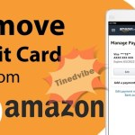 How To Remove Credit Card From Amazon App