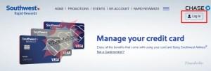 Southwest Credit Card Login