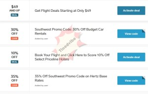 Southwest Airlines Promo Code