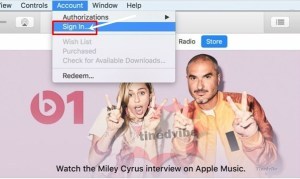 apple itunes login