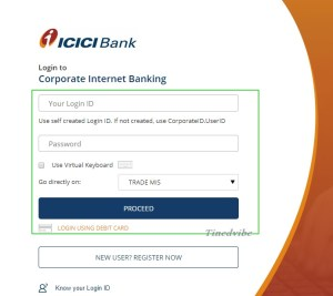 ICICI Bank Credit Card Login