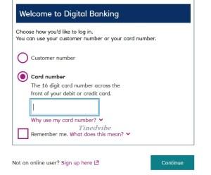 RBS Digital Banking Online