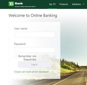 Access TD Bank Online Login