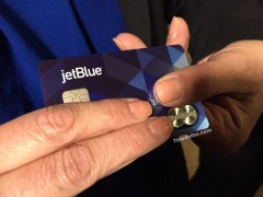 How Can I use Jetblue credit card to buy phone online?