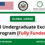 Global Undergraduate Scholarship 2021 in USA (Fully Funded) – Apply Now