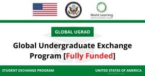 lobal Undergraduate Scholarship 2021 in USA