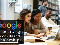 Google Offers 100,000 Scholarships – Here's How To Get One – Apply Now