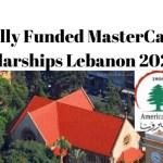 American University of Beirut (AUB) MasterCard Foundation 2021 Graduate Scholarship Program