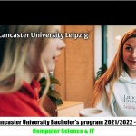 Lancaster University Bachelor's Program 2022 – Computer Science & IT, Leipzig Germany