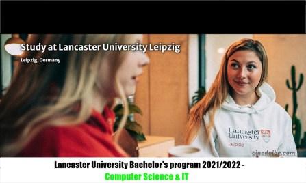 Lancaster University Bachelor's program 2022