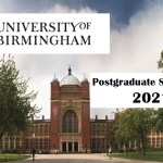 University of Birmingham Postgraduate Scholarships 2021 for International Students