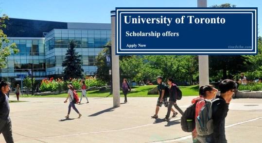 University of Toronto Scholarships 2022