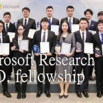 Microsoft Research PhD Fellowship Application For International Students