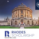 Fully Funded | 2022 Rhodes Scholarship at the University of Oxford