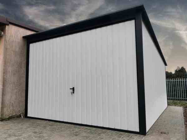 metal garage white 3x5